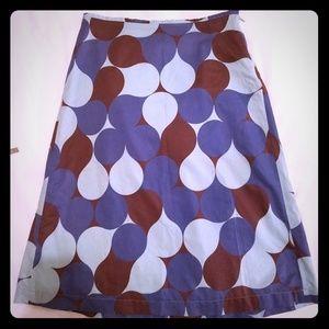 Boden A Line Midi skirt